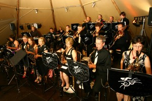 Experience Dr Jazz and the Cheshire Cats Big Band Live!