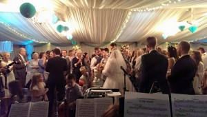 Dr Jazz and the Cheshire Cats - Hire a big band for your wedding